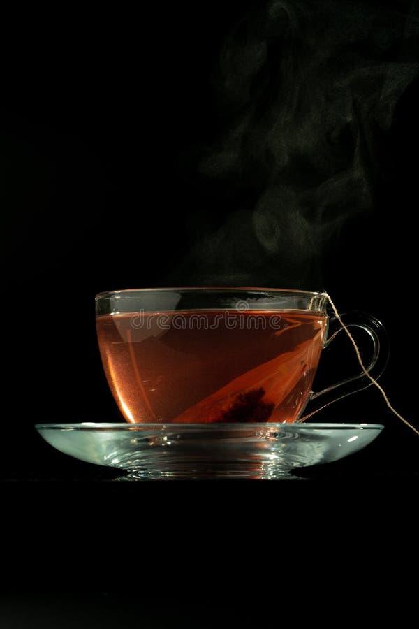 Tee und Dampf lizenzfreie stockfotos