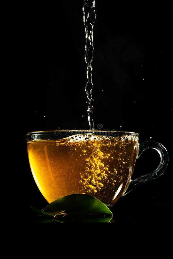 Tee und Dampf lizenzfreies stockfoto