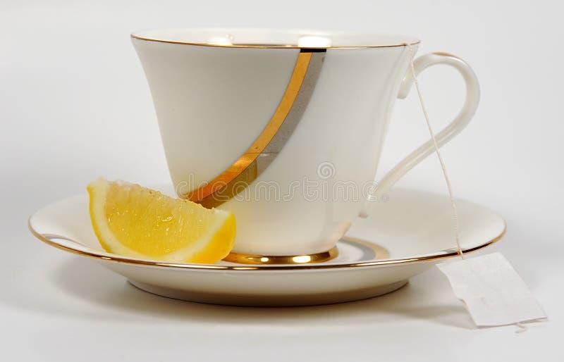 Tee Und Zitrone Lizenzfreies Stockfoto