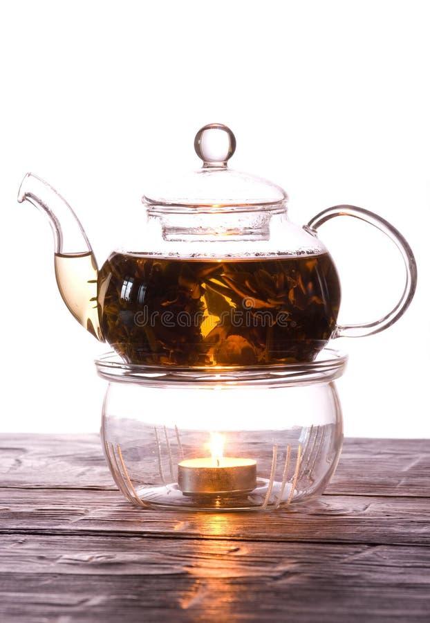 Tee-weiß lizenzfreies stockfoto