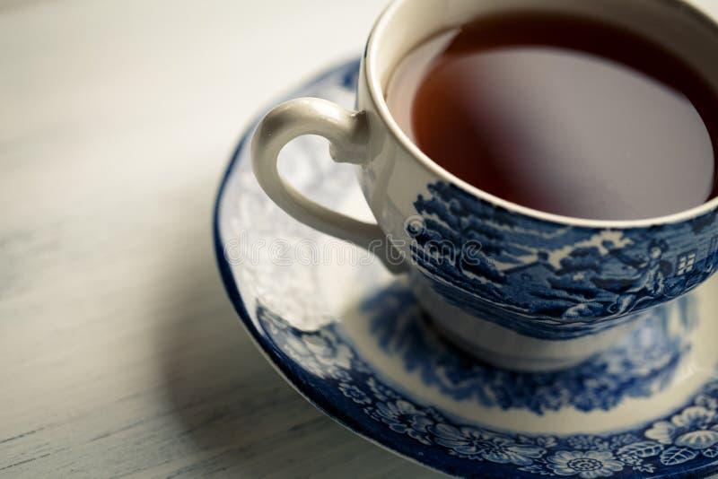 Tee-Zeit stockfotos