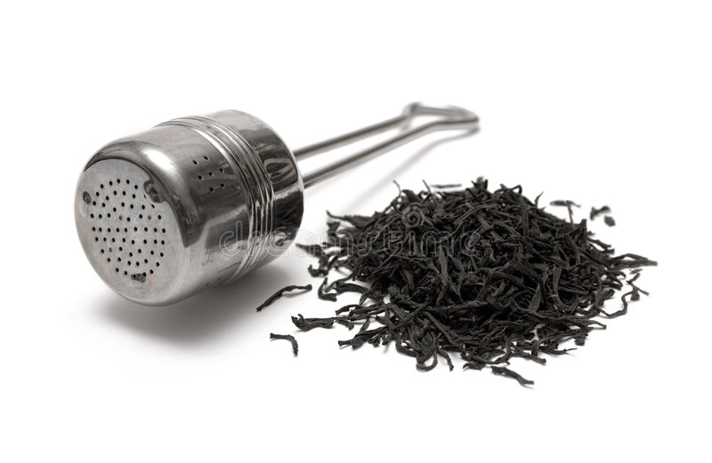 Tee-Zeit lizenzfreie stockfotos