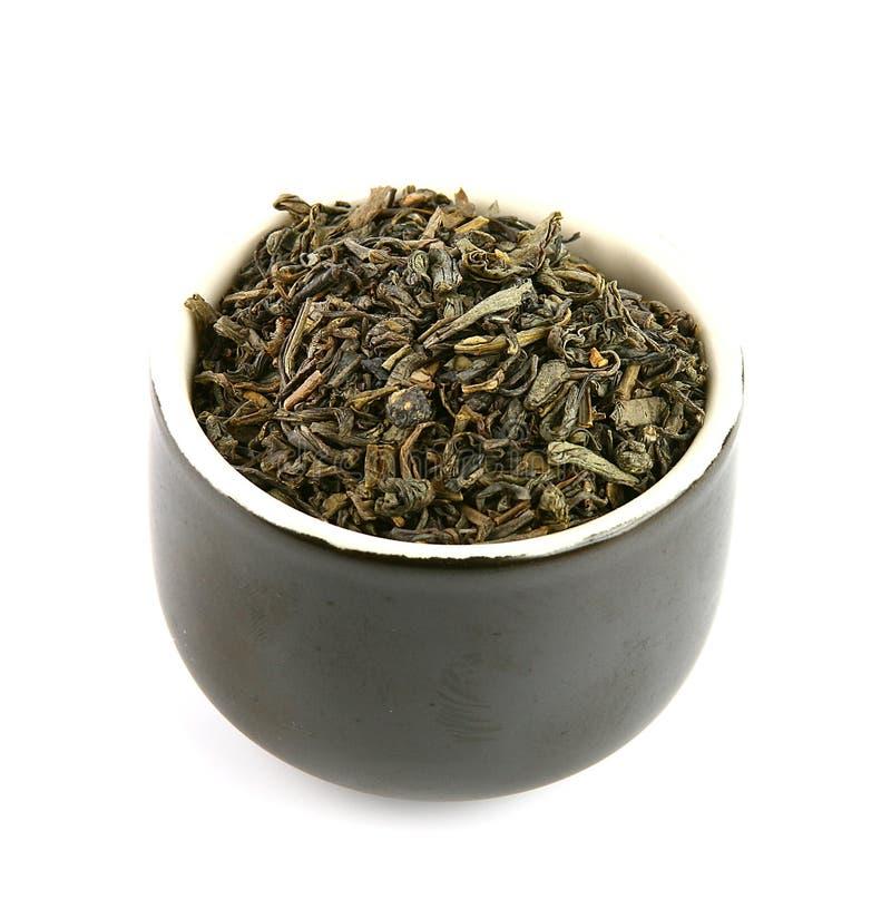 Teeblätter stockfotografie