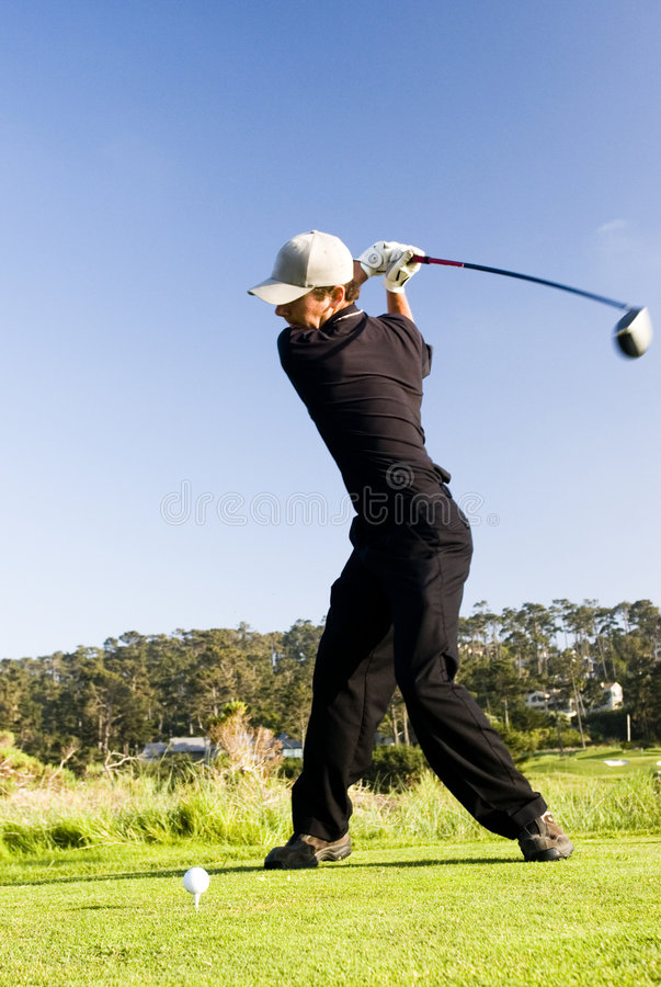 Download Teeing off stock photo. Image of course, beautiful, recreation - 855264