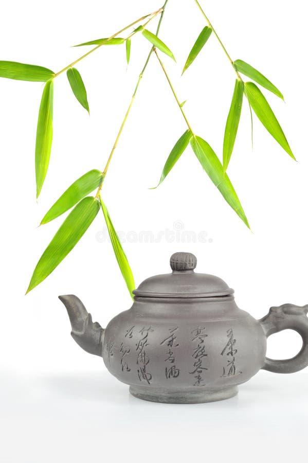 Download Teekanne stockbild. Bild von chinesisch, auszug, hintergrund - 9088823