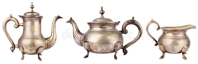 Teekannen stockfotos