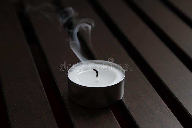 Teelicht stockfoto