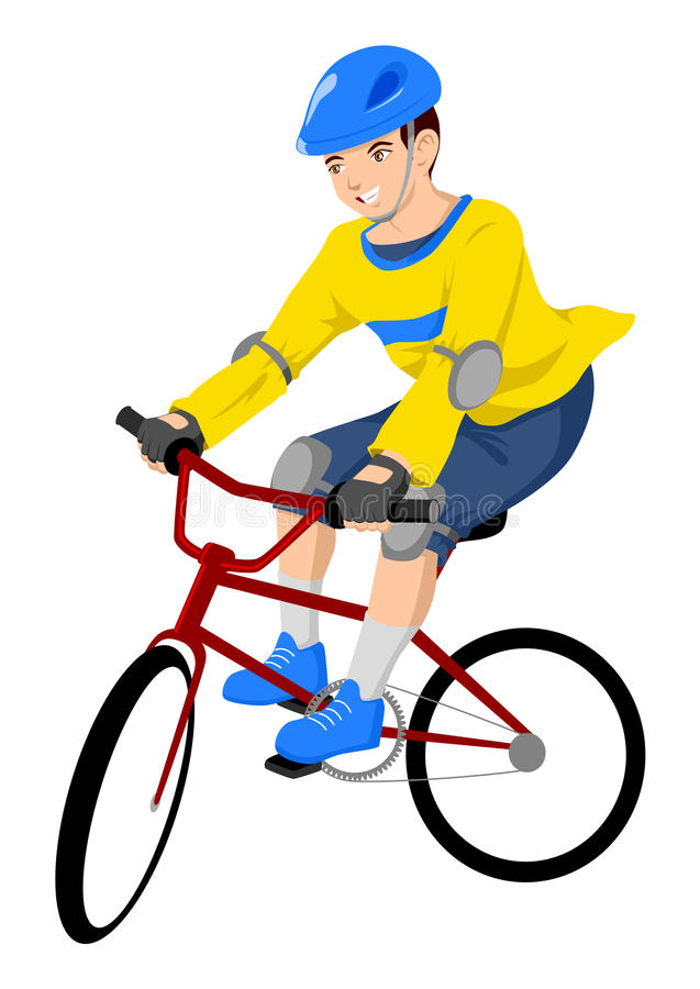 Download Teen Activity stock vector. Illustration of active, bike - 20605116