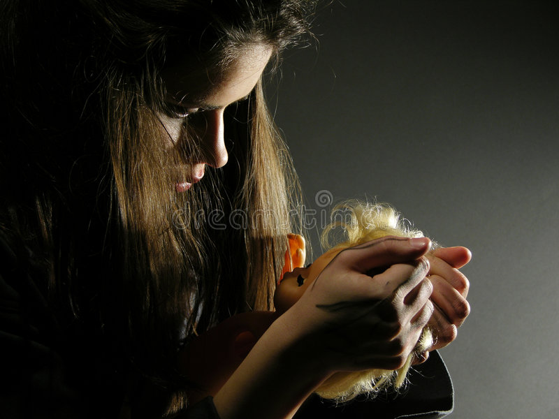 Teen-ager From Today Want To Distroy Everything Stock Photo