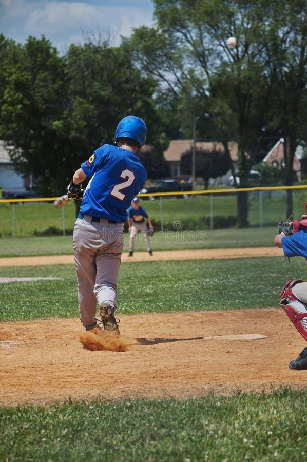 teen basebollspelare fotografering för bildbyråer