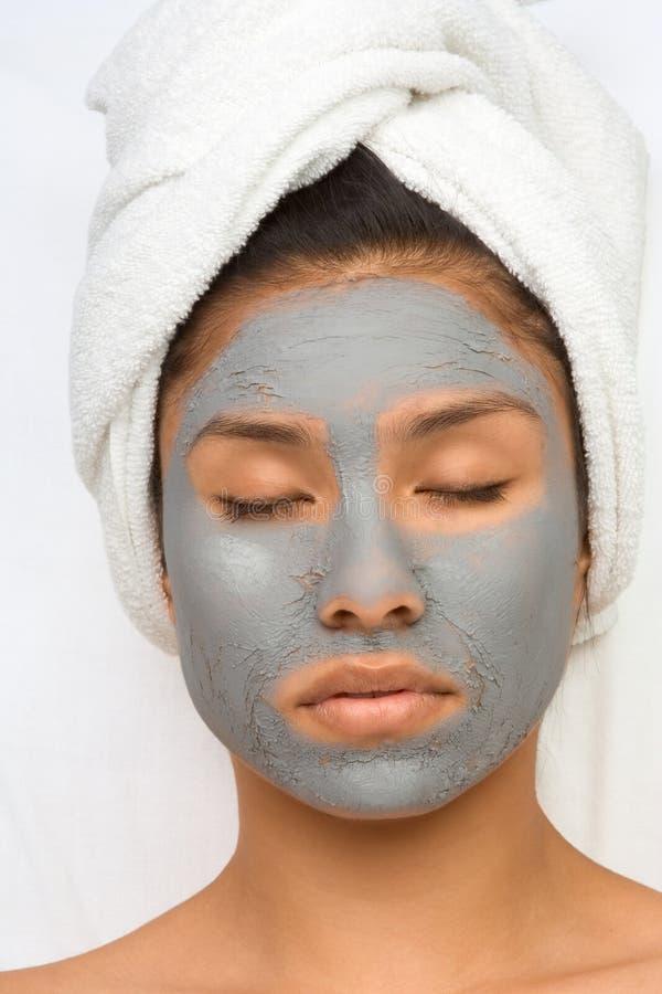 teen behandling för skönhetbrunnsort royaltyfri fotografi
