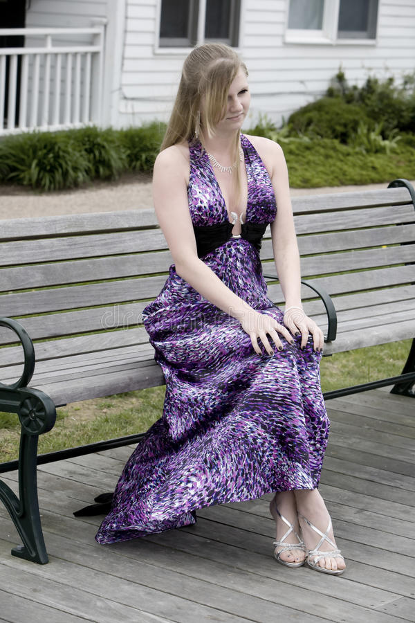 Teen on a Bench