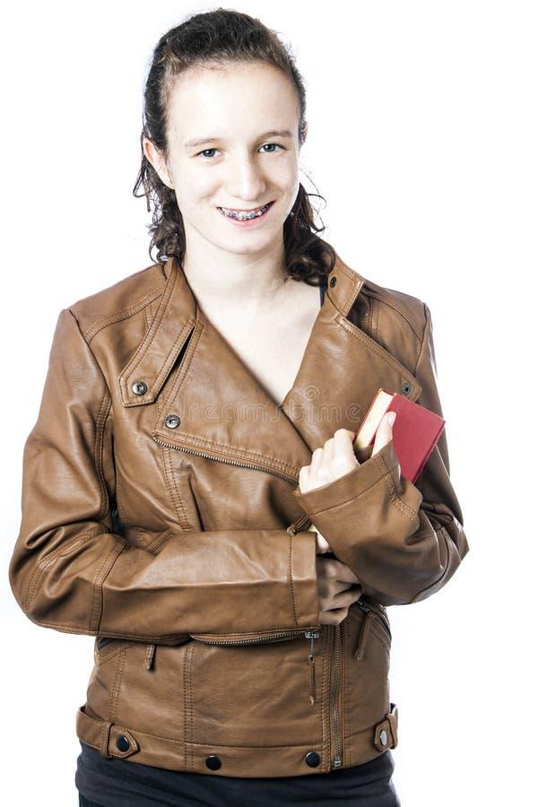Teen With Book Stock Photos