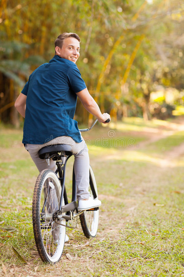 Download Teen Boy Bicycle Stock Photo - Image: 32396280