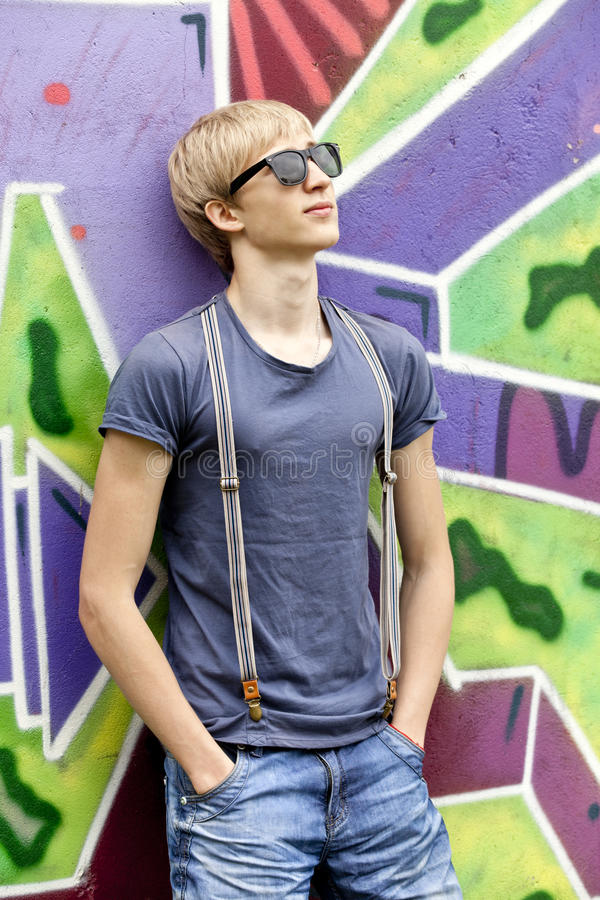 Free Teen Boy With In Sunglasses Stock Image - 24819731