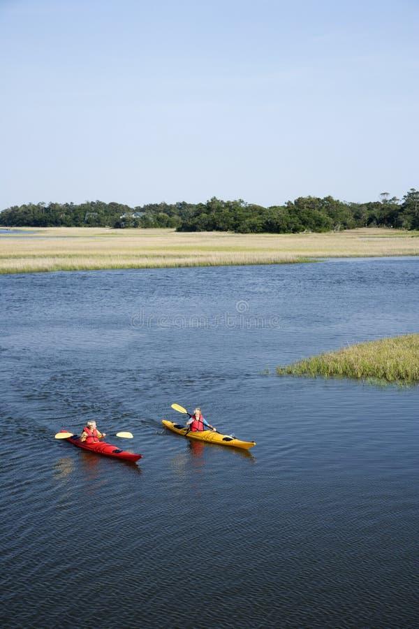 Download Teen boys kayaking. stock photo. Image of 060607d0010 - 3417604