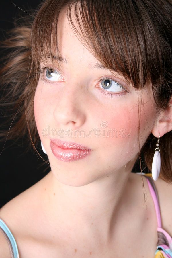 Download Teen Close Up stock image. Image of youngster, expression - 6971121
