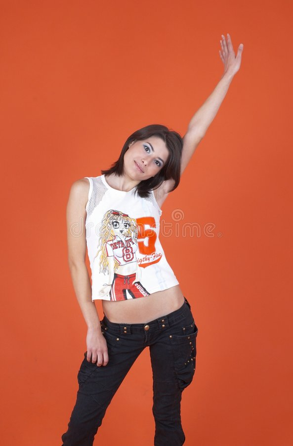 Teen Dancer stock photo