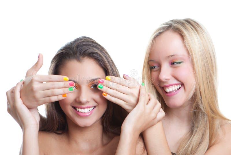 Download Teen fashion stock image. Image of make, females, up - 27384857