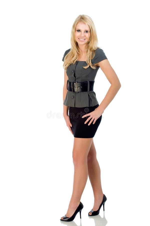 Teen Fashion Skirt Stock Image Image Of Model Heels