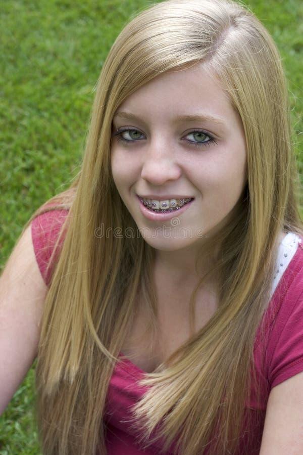 teen flicka arkivfoto