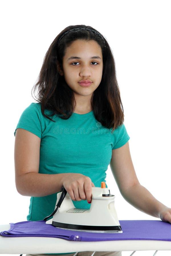 Download Teen Girl stock photo. Image of ironing, school, teen - 24083268