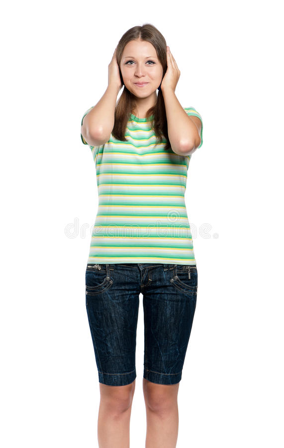 Download Teen girl stock photo. Image of hands, people, emotion - 26697334