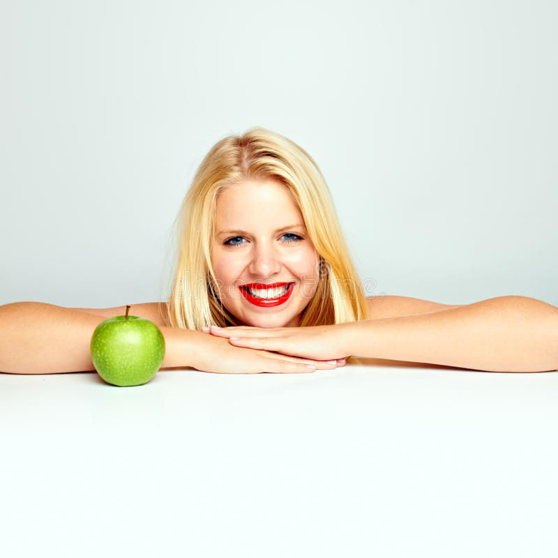 Download Teen Girl With An Apple Stock Images - Image: 24089444