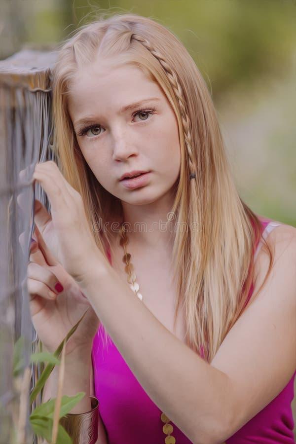 Teen Girl Royalty Free Stock Image Image 33137896