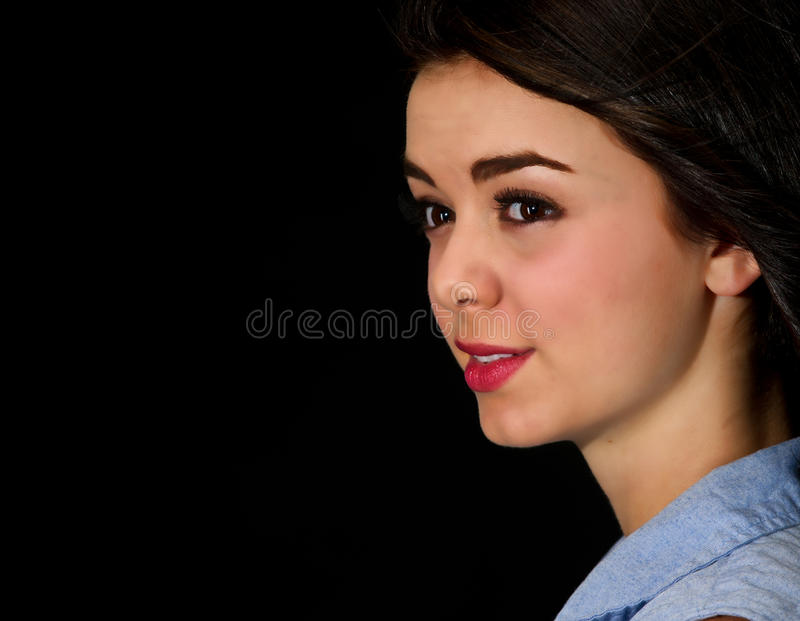Download Teen girl close up stock photo. Image of girl, smiling - 26533374