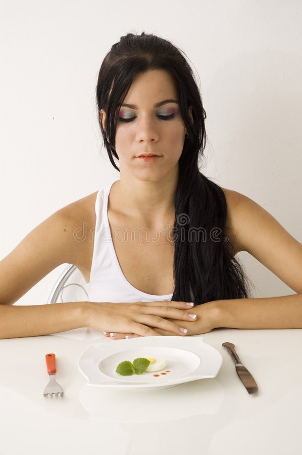 Download Teen girl on diet stock photo. Image of appetite, gourmet - 3329638