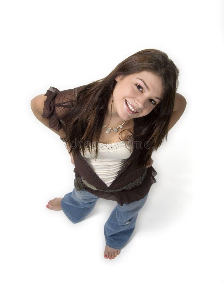 Free Teen Girl Looking Up Stock Image - 1938721