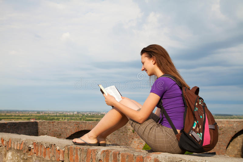 Download Teen Girl Reading The Bible Stock Image - Image: 26579671