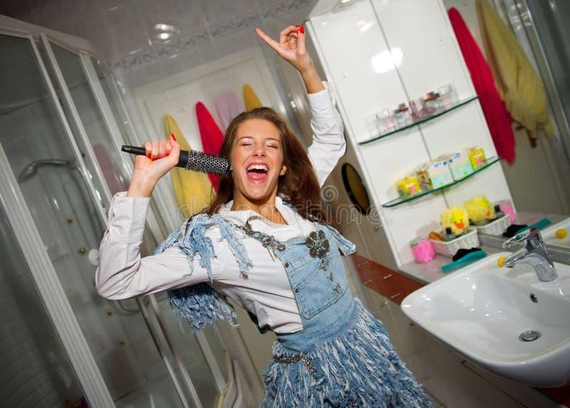Download Teen Girl Singing Stock Image - Image: 16297131