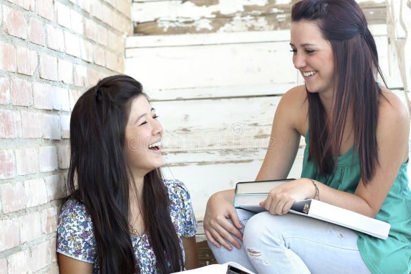 Download Teen Girls Having Fun stock image. Image of laugh, daylight - 12384599