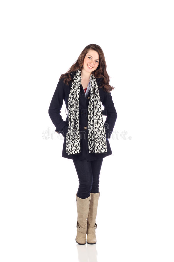 Download Teen With Good Fashion Sense Stock Image - Image: 14264755