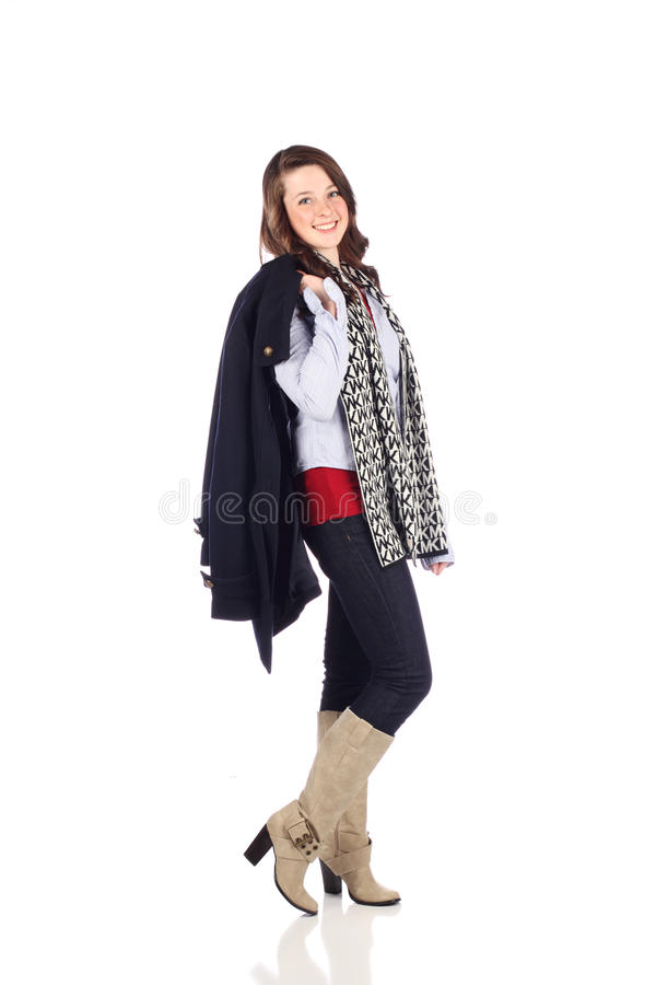 Download Teen With Good Fashion Sense Stock Photo - Image: 14264770