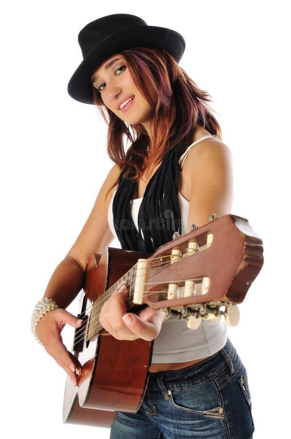 Free Teen Guitar Royalty Free Stock Photos - 11071698