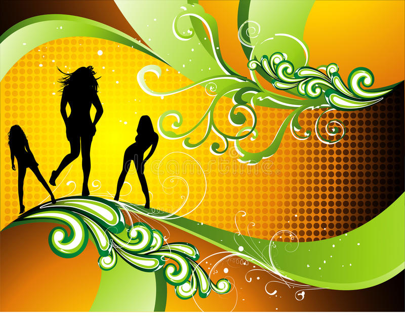 Download Teen illustration stock vector. Image of body, people - 12793551