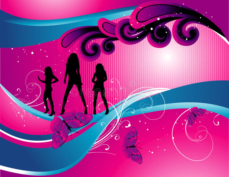 Download Teen illustration stock vector. Illustration of woman - 12793568