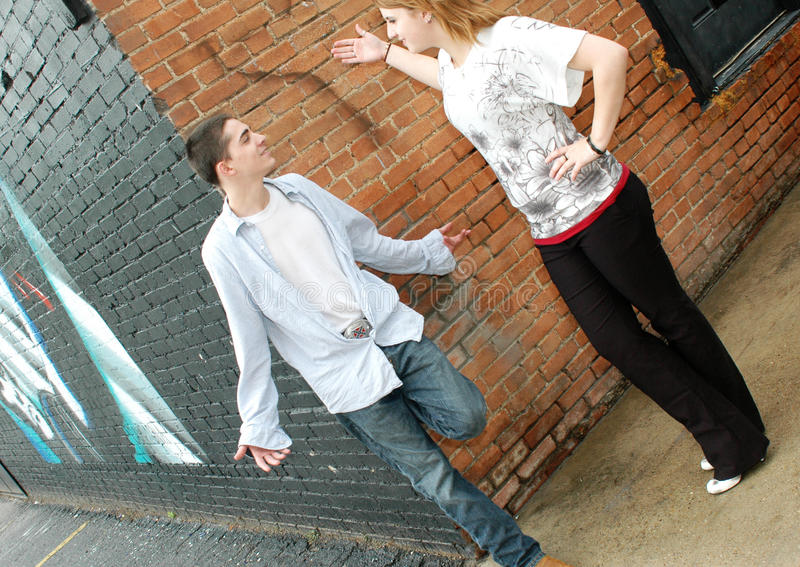 Download Teen Interaction Stock Image - Image: 10433131