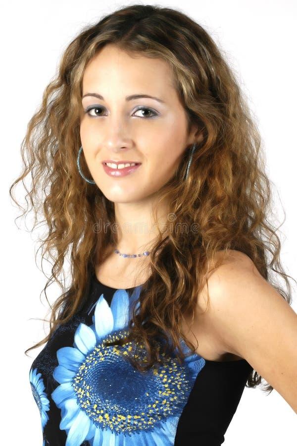 Download Teen Model 4 stock photo. Image of hair, smile, black, daughter - 70932