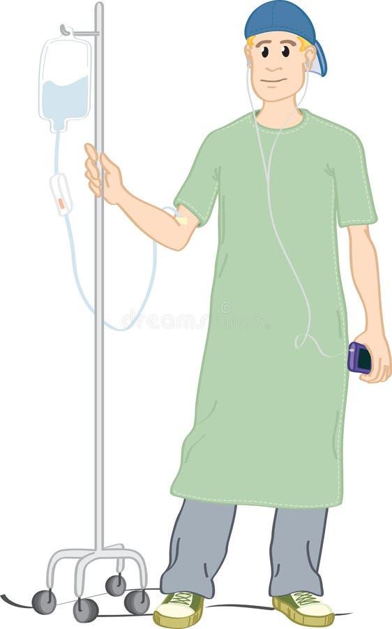 Download Teen patient. stock vector. Image of body, pants, fingers - 10474135
