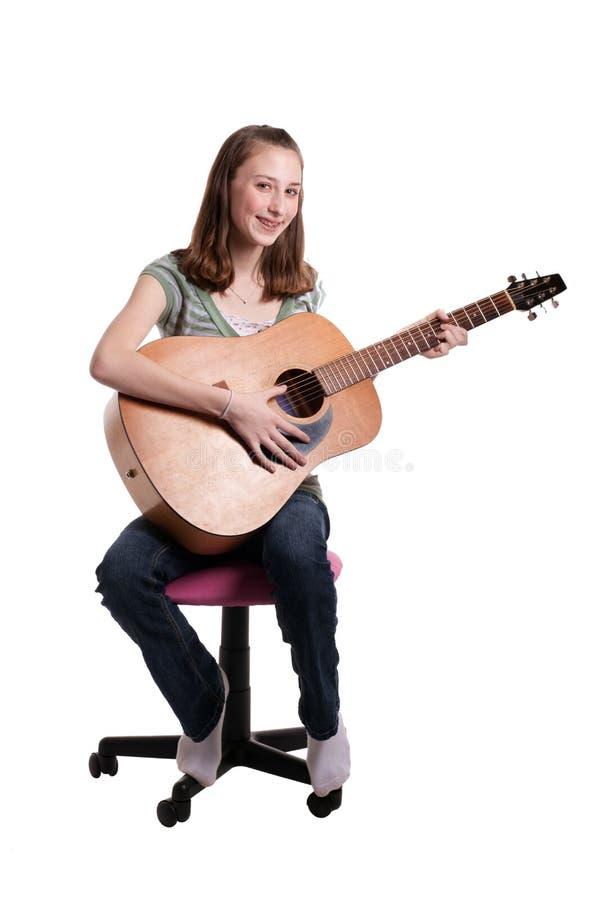 Download Teen Playing Guitar Grouping Stock Photos - Image: 13531133