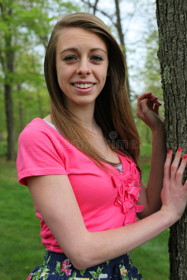 Teen Portrait royalty free stock images