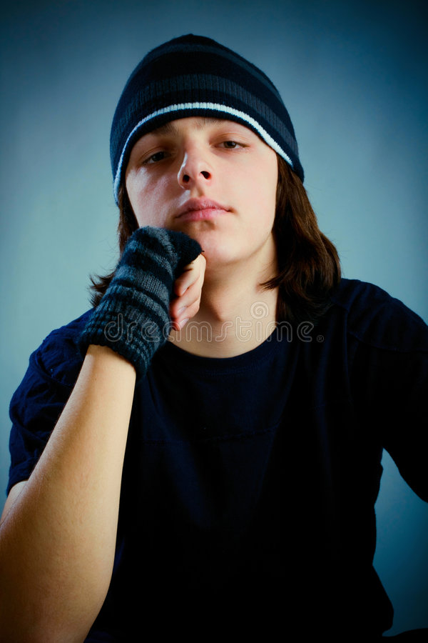 Teen Portrait Royalty Free Stock Photography