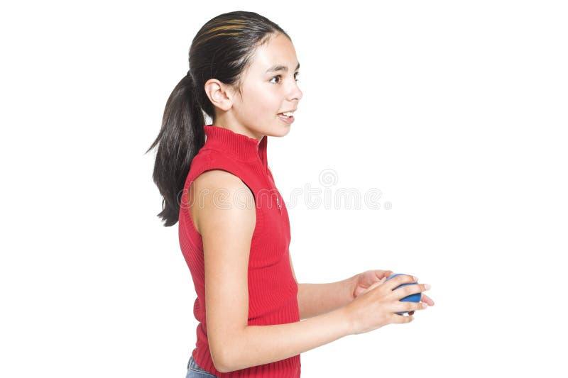 Teen profile royalty free stock photo