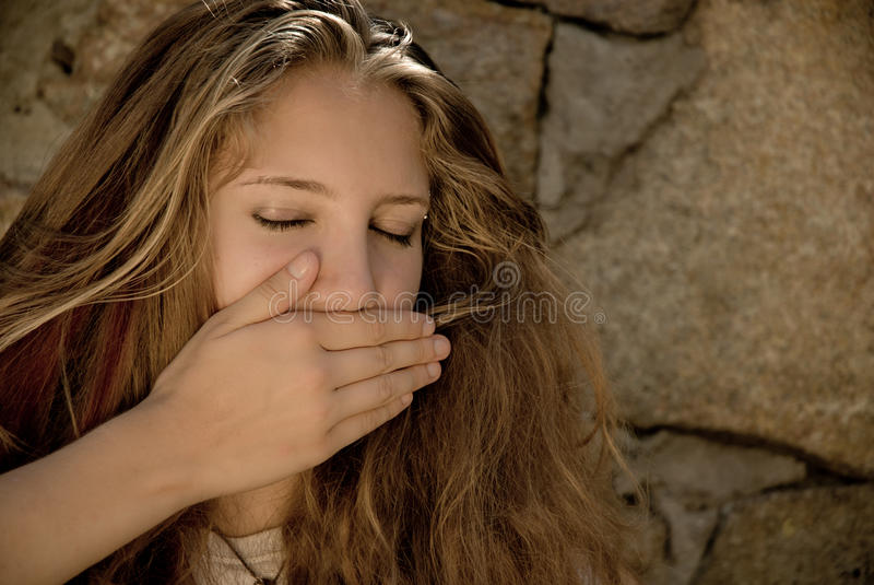 Download Teen's Silence Royalty Free Stock Image - Image: 20879856
