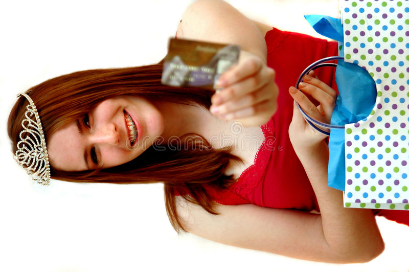 Free Teen Shopping Queen Stock Photography - 1848672