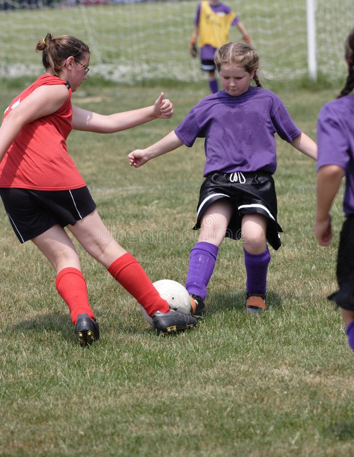 Download Teen Soccer Player In Action 6 Stock Image - Image: 4887021